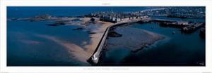 St. Malo, le Mole des Noirs by Philip Plisson