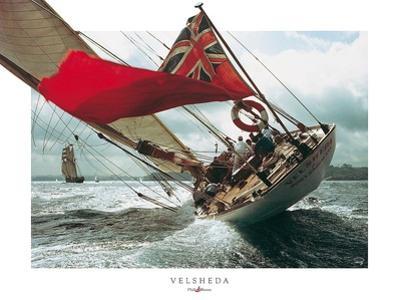Velsheda by Philip Plisson