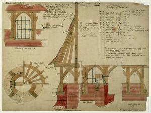 Plans For the Red House, Bexley Heath by Philip Webb