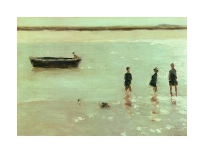 Beach at Etaples, 1887