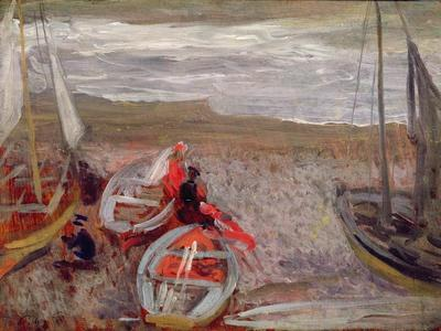 Boats on the Beach, Southwold, 1888-89