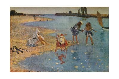 'Children Paddling', 1891 (1930)