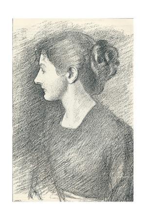 'Portrait of Miss Emma Froude', c1893