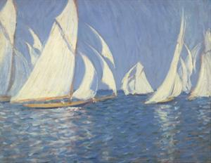 Yacht Racing on the Solent by Philip Wilson Steer