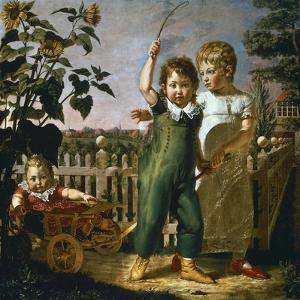 Hulsenbeck Children, 1805 by Philipp Otto Runge