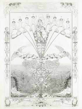 Night, 1805 by Philipp Otto Runge