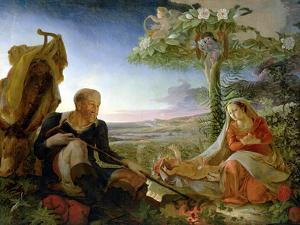 Rest on the Flight Into Egypt, 1805-6 by Philipp Otto Runge