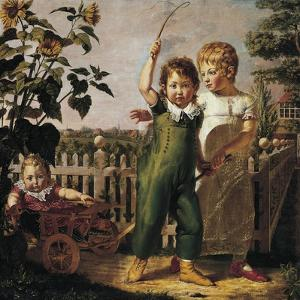 The Hulsenbeck Children, 1805 by Philipp Otto Runge