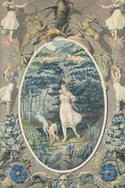 The Joy of Hunting, 1808-9 by Philipp Otto Runge