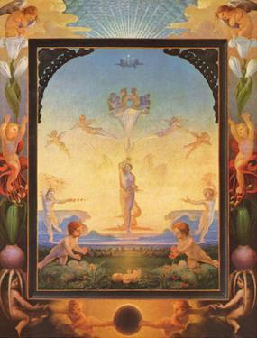 Philipp Otto Runge (The morning) Art Poster Print