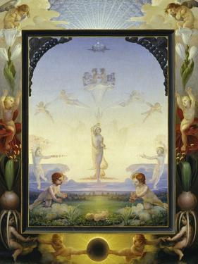 The Small Morning by Philipp Otto Runge