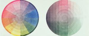 Two Studies of the Cross Section and Longitudinal Section of a Colour Globe, 1809 by Philipp Otto Runge