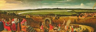 An Extensive River Landscape with the Parable of the Tenants and the Vineyard Owner