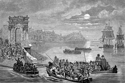 Occupation of Ancona by the French, Italy, 23 February 1832