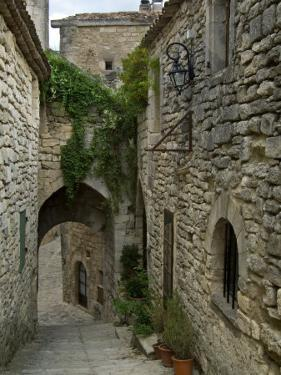 Mediaeval Alley in the Village of Lacoste, Provence, France by Philippe Clement