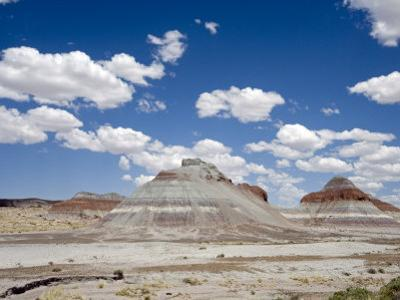 The Teepes Cones, Painted Desert and Petrified Forest Np, Arizona, USA, May 2007 by Philippe Clement