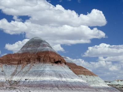 The Teepes Cones, Painted Desert and Petrified Forest Np, Arizona, USA, May 2007