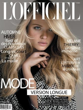 L'Officiel, September 2010 - Mélanie Thierry by Philippe Cometti