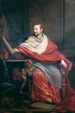 Cardinal Pierre de Berulle by Philippe De Champaigne