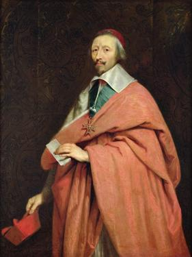 Cardinal Richelieu (1585-1642) C.1639 by Philippe De Champaigne