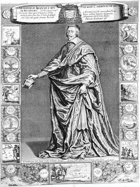 Cardinal Richelieu, C1637 by Philippe De Champaigne