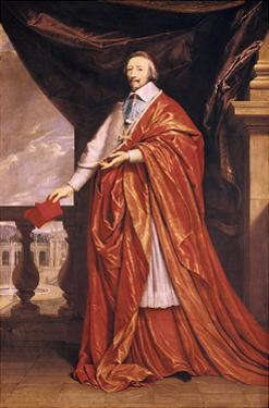 Cardinal Richelieu, French Prelate and Statesman, 1640 by Philippe De Champaigne
