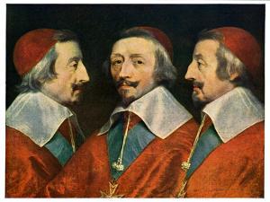 Cardinal Richelieu by Philippe de Champaigne
