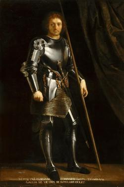 Gaston of Foix, Duke of Nemours (Warrior Sain) after Giorgione by Philippe De Champaigne