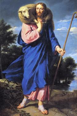 Good Shepherd by Philippe De Champaigne