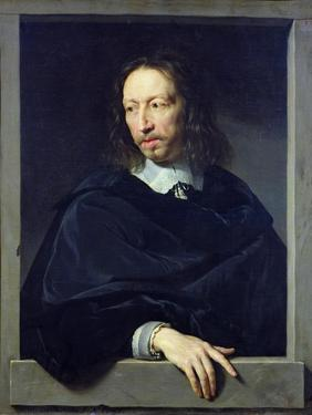 Portrait of a Gentleman, known as Arnaud D'Andilly by Philippe De Champaigne