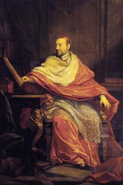 Portrait of Cardinal De Berulle by Philippe De Champaigne