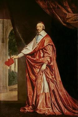 Portrait of Cardinal De Richelieu (1633-40) by Philippe De Champaigne