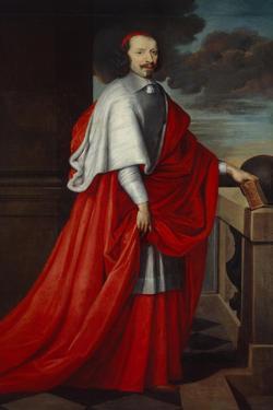 Portrait of Cardinal Mazarin, after 1650 by Philippe De Champaigne