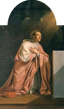 St. Charles Borromeo (1538-84) by Philippe De Champaigne