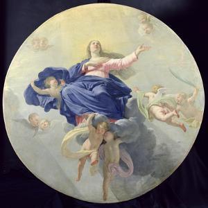 The Assumption of the Virgin, c.1656 by Philippe De Champaigne