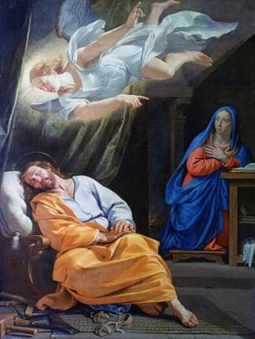 The Dream of Saint Joseph, C1636 by Philippe De Champaigne