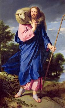 The Good Shepherd, circa 1650-60 by Philippe De Champaigne