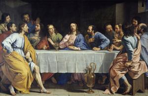 The Last Supper, 1648 by Philippe De Champaigne