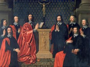 The Prevot Des Marchands and the Echevins of the City of Paris, 1648 by Philippe De Champaigne