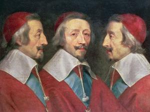 Triple Portrait of the Head of Richelieu, 1642 by Philippe De Champaigne