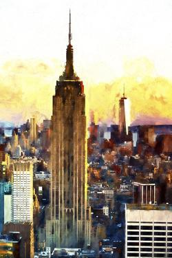 1WTC & Empire State II by Philippe Hugonnard