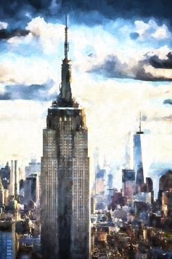 1WTC & Empire State by Philippe Hugonnard