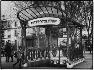 Abbesses Metro Station - Montmartre - Paris by Philippe Hugonnard