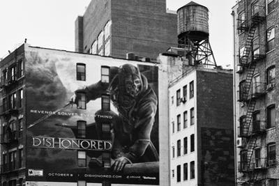 Advertising - Dishonored Games - Soho - Mahnattan - New York - United States by Philippe Hugonnard