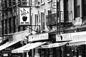 Advertising - La Mela - Little Italy - Manhattan - New York - United States by Philippe Hugonnard