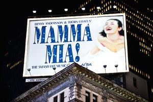 Advertising - Mamma Mia - Times square - Manhattan - New York City - United States by Philippe Hugonnard