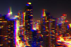 After Twitch NYC - Towers Night by Philippe Hugonnard
