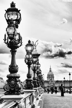 Alexander III Bridge - Invalides - Paris - France by Philippe Hugonnard