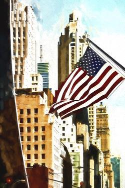 American Flag NYC by Philippe Hugonnard