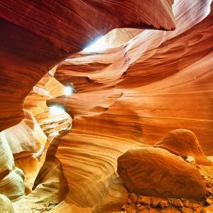 Antelope Canyon - Page - Arizona - United States by Philippe Hugonnard